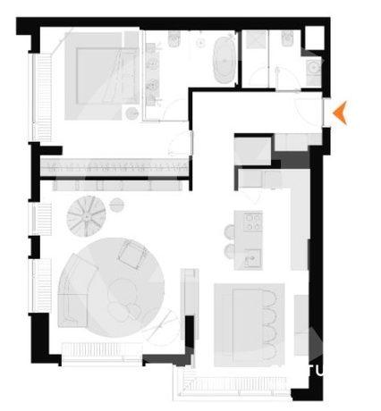 Продаются по переуступке 2-х комнатные апартаменты
