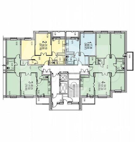 Продам 3 комнатную квартиру. Общая площадь 80 кв.м.