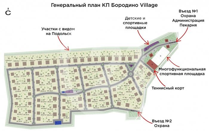 «Бородино Village» – коттеджный поселок бизнес-класса