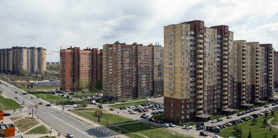 На Подмосковье приходится 13% от объема ввода жилья в России