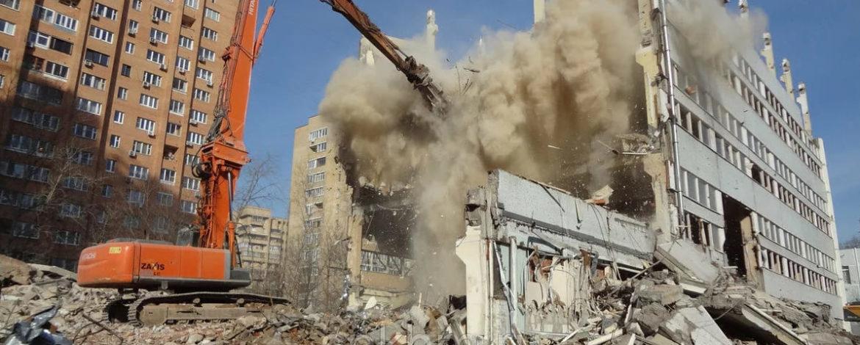 С начала года на юго-востоке Москвы демонтировали около 19 тыс. кв. м самостроя